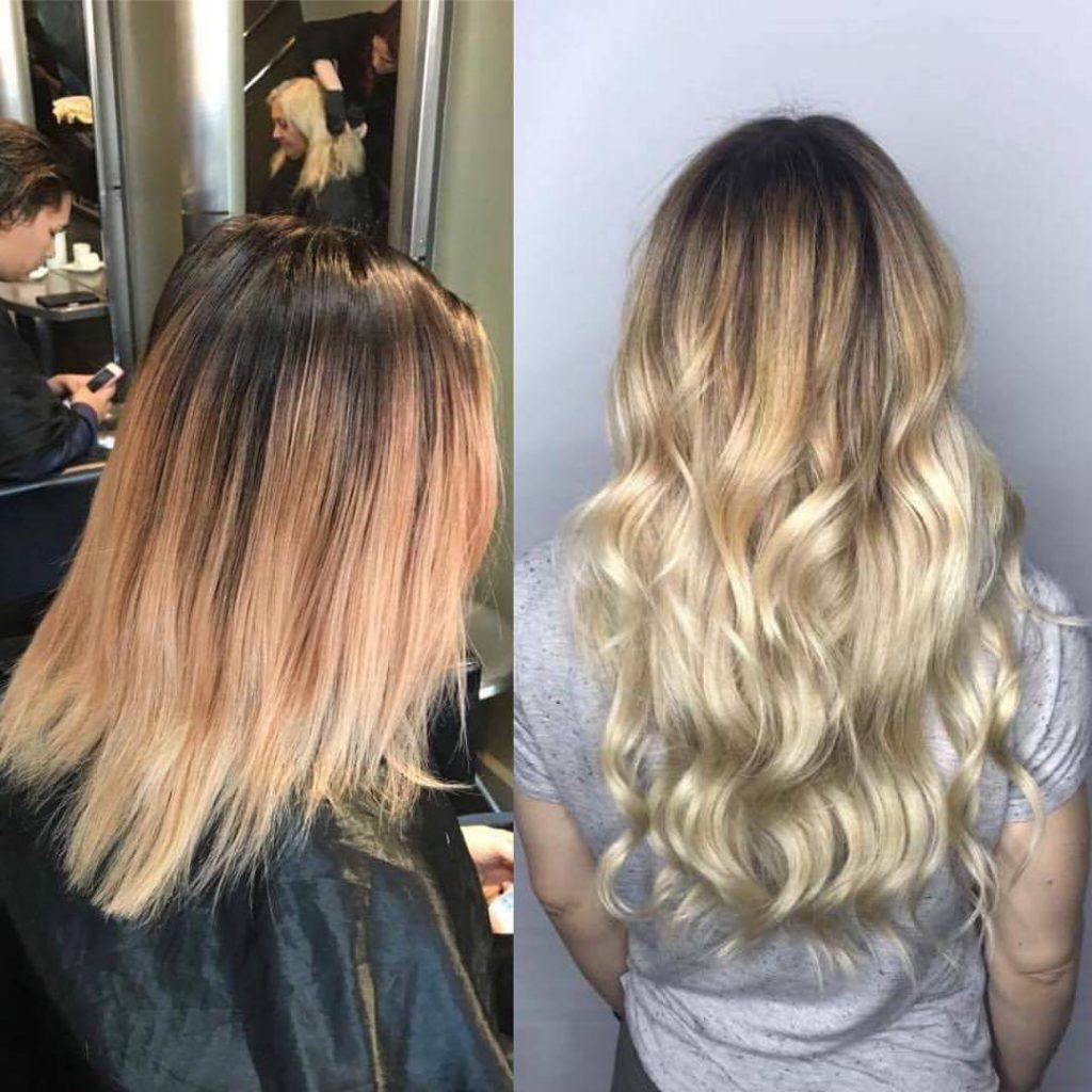 hair extensions & colour